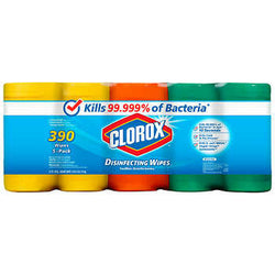 Clorox Disinfecting Wipes, 5-pack