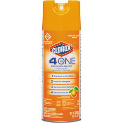 Clorox 4-In-One Disinfectant & Sanitizer Spray 14oz Fresh Citrus