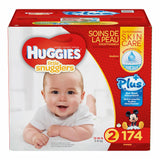 Huggies Little Snugglers Plus Diapers Size 2; 174ct