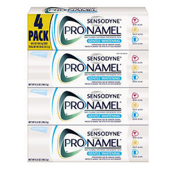 Sensodyne ProNamel Gentle Whitening Toothpaste, 4-count, 6.5 oz.