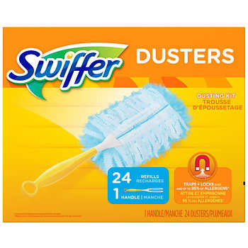 Swiffer Dusters 24 Refills + 1 Handle