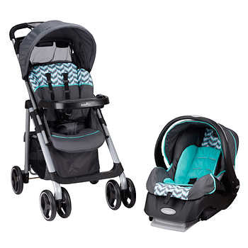Evenflo Vive With Embrace Travel System - Speariment Spree
