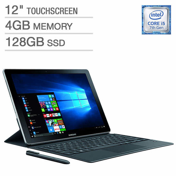 "Samsung Galaxy Book 12"" 2 in 1 Laptop - Intel Core i5 - 2160 x 1440 Display"
