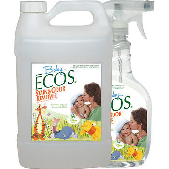 Baby ECOS® Stain and Odor Remover Combo Pack