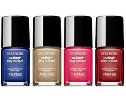 COVERGIRL Outlast Stay Brilliant Nail Gloss Inferno 0.37 Fl Oz