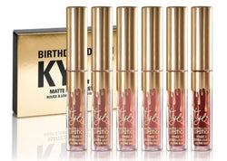 Kylie Jenner Limited Birthday Edition Kylie Matte liquid Lipstick Set Cosmetics