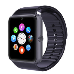 GSM GPRS Bluetooth Smart Watch for iOS & Android Cellphone SIM Card