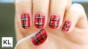 Plaid Nail Art + Bundle!