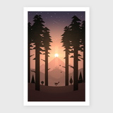 Mountain Memories Art Print - Serenity (Limited Edition)