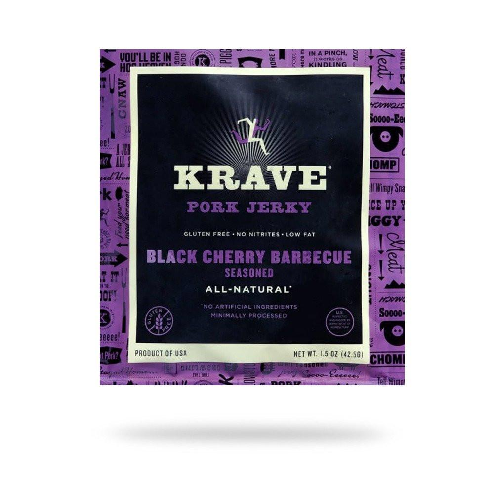 Krave Black Cherry BBQ Pork Jerky
