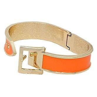 Orange Buckle Bracelet (Available for Delivery 5/10/17)