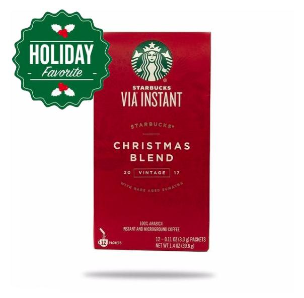 Starbucks VIA Christmas Blend Coffee