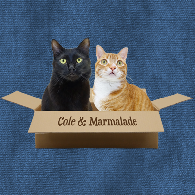 Cole & Marmalade in Box