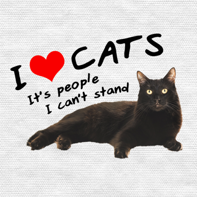 I Heart Cats, It's People I Can't Stand