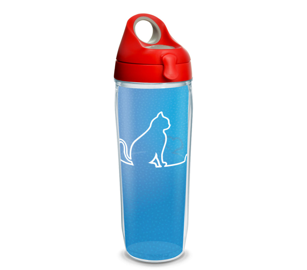 Tervis - Cat Heartbeat 24 oz Water Bottle