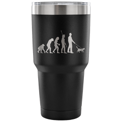 Evolution of the Cat Man 30 Ounce Tumbler