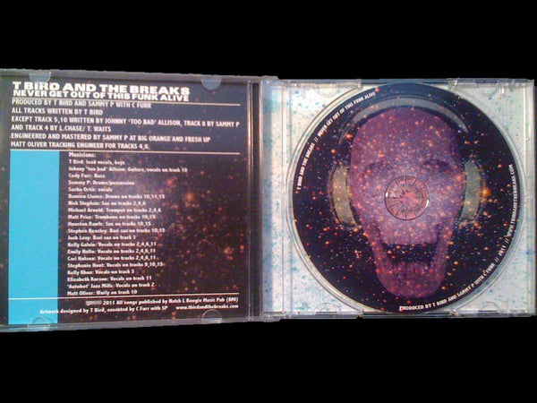 Never Get Out Of This Funk Alive CD