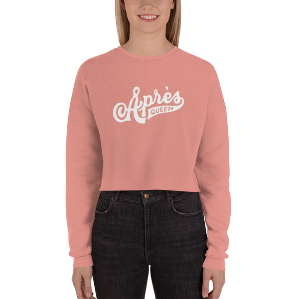 Apres Queen Crop Sweatshirt