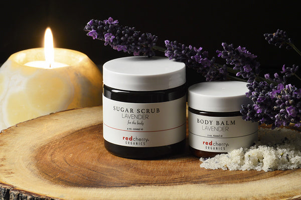 Lavender Body Gift Set  by Red Cherry Organics - Limited Edition