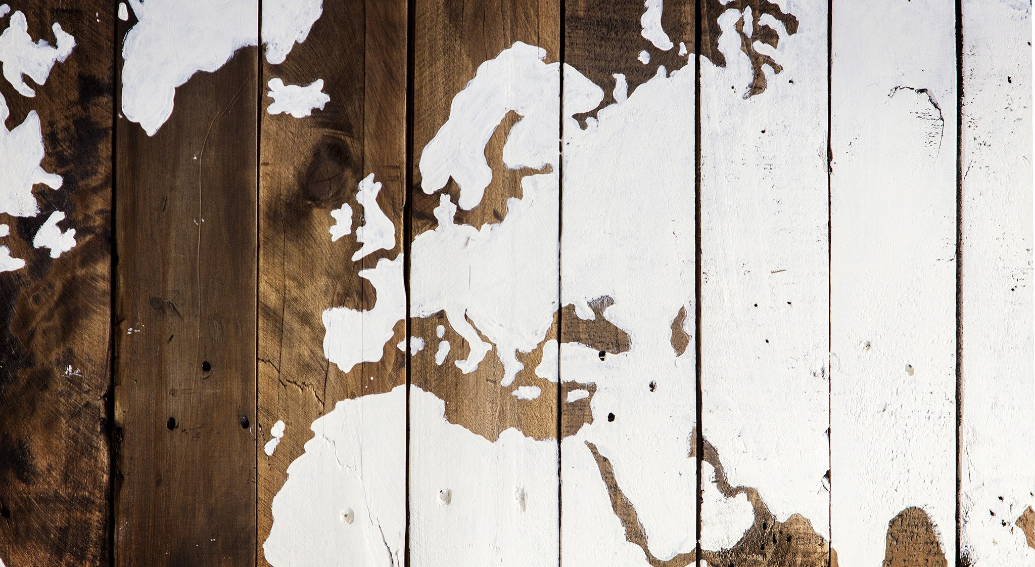 Rustic reclaimed wood sign world map salter creek designs world map wood sign salter creek designs gumiabroncs Gallery