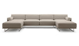 Noord Double-Chaise Sectional