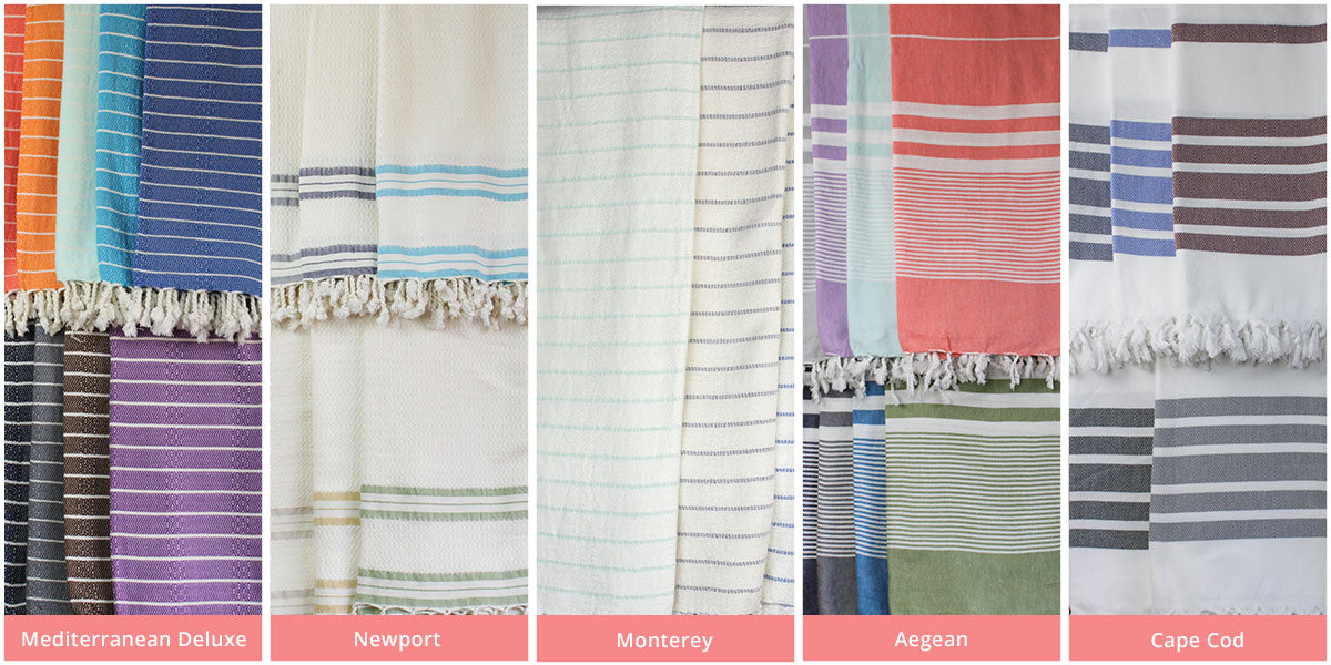 The Active Towel Authentic Turkish Towels