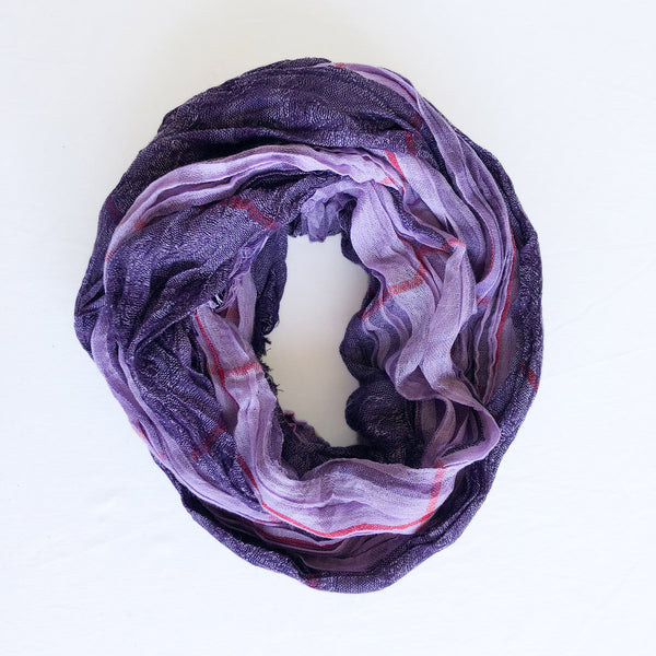 Twist Scarf - Purple - The Active Towel by® Bluestone Imports