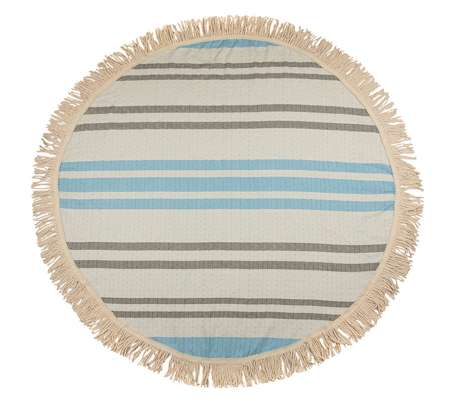 Round Beach Towel & Tablecloth - The Active Towel by® Bluestone Imports
