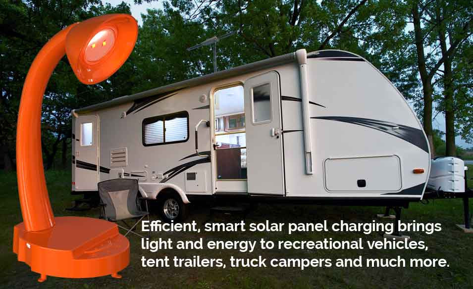 InteliEnergy lamp is great for remote or off grid locations!