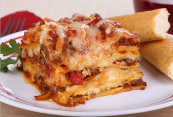 Homemade Cheese Lasagna