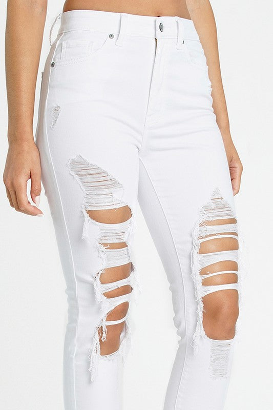 Bella Jeans- White