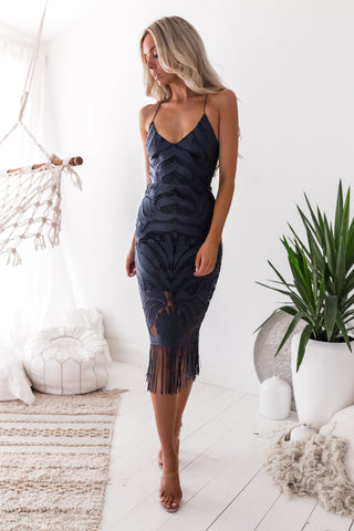 Kiki Dress- Navy