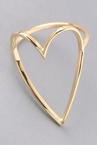 Mountain Ring- Rose Gold
