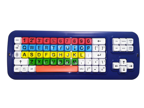 Bluetooth Keyboard  'BIG Blue'-Tooth (TM)