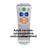 TV-Cable/Satellite Remote (Switch-Adapted) - RJ Cooper & Associates, Inc.