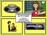 Point To Pictures (early communication, vocab. building, match text to pics, and sequencing!)