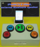 BIG Button Music Remote - Bluetooth - RJ Cooper & Associates, Inc.