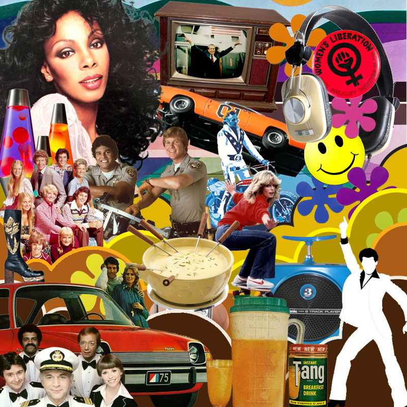 1970s collage