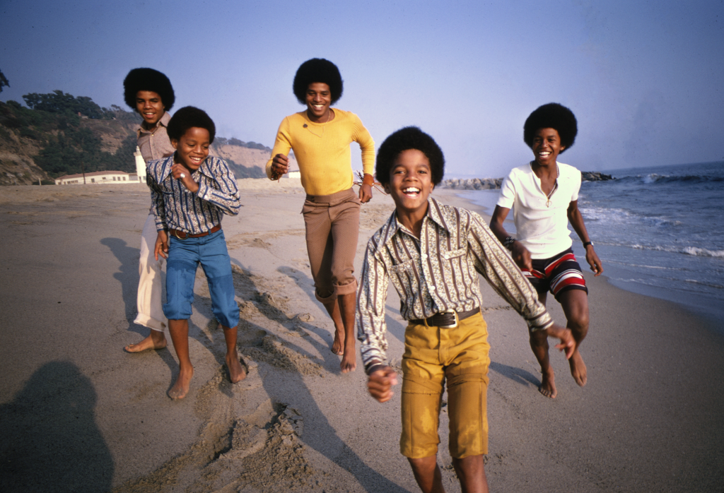 The Story Behind The Photo The Jackson 5 On The Beach