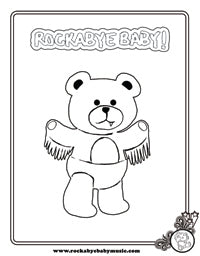 rockabye baby! black sabbath coloring page