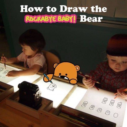 Drawing bear at Brooklyn Museum