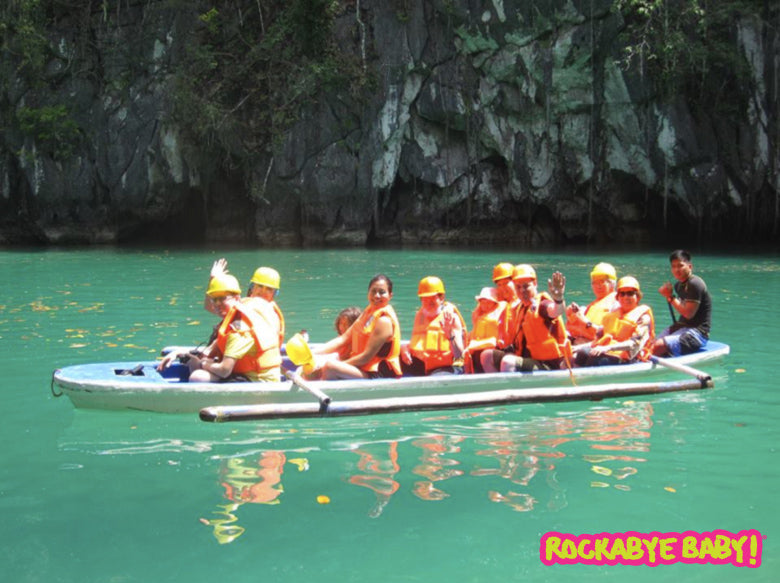 The Underground River in Palawan, Phillippines