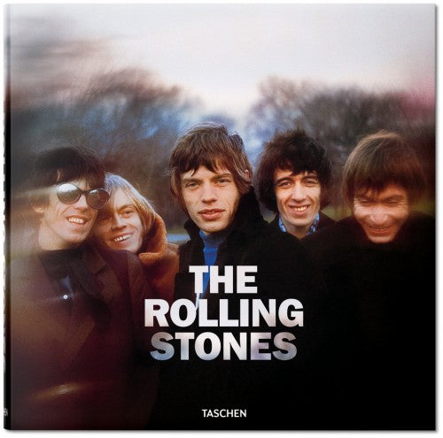 The Rolling Stones book cover from TASCHEN