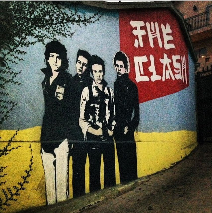 theclashmural