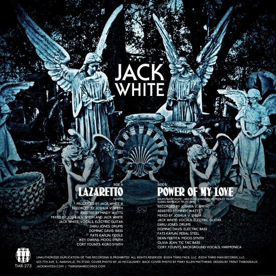 jack white on vinyl lazaretto