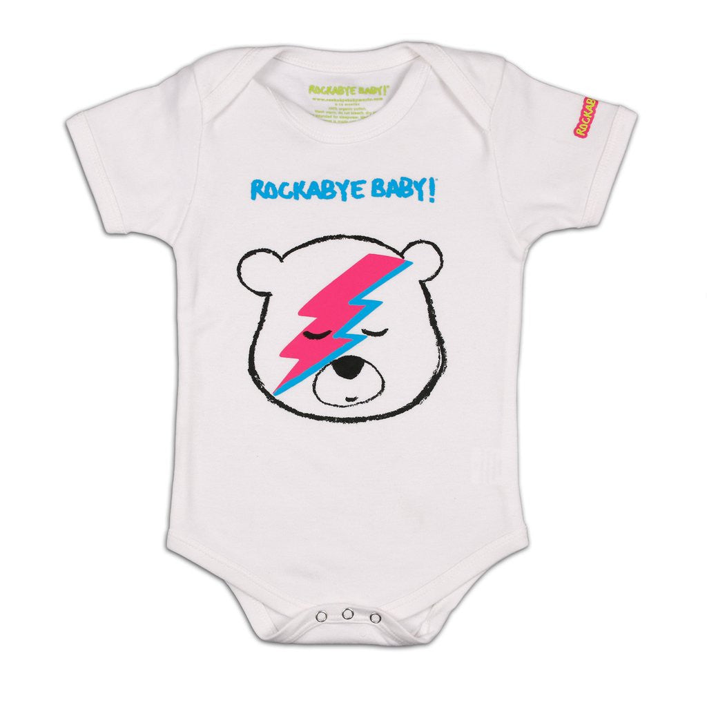 Organic Baby Bodysuit Quot Lullaby Renditions Of David Bowie