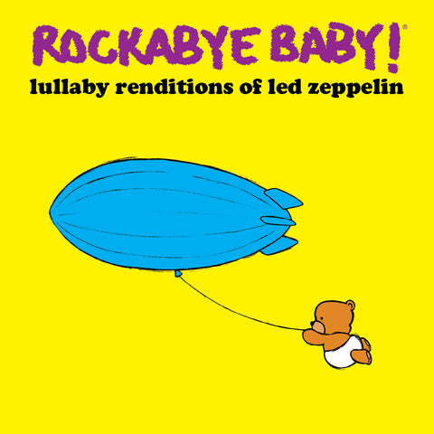 rockabye baby lullaby renditions led zeppelin