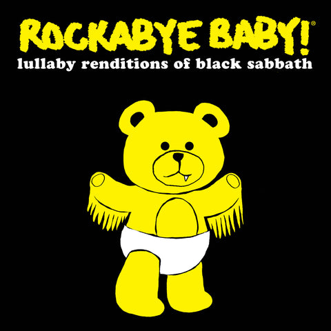 rockabye baby lullaby renditions black sabbath