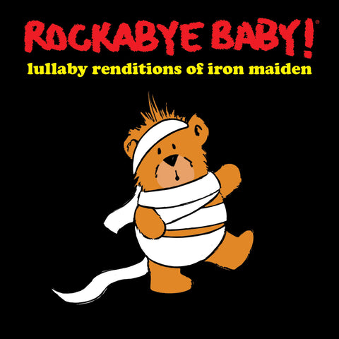rockabye baby lullaby renditions iron maiden