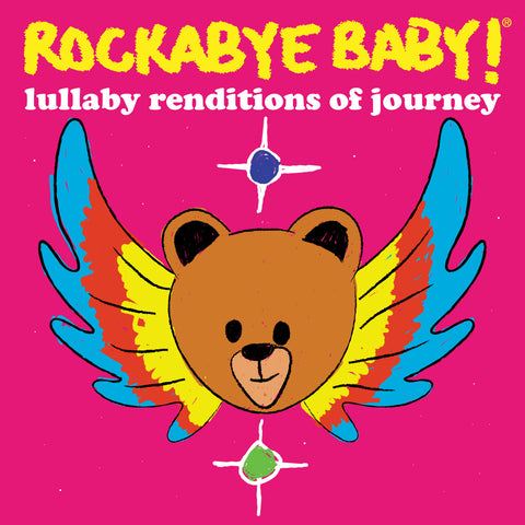 rockabye baby lullaby renditions journey